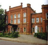 Здание бывшей женской гимназии (сегодня факультет  ЕГУ им И.А. Бунина)
