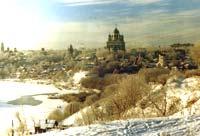 Панорама зимнего Ельца